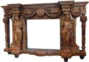 Carved Stone Fireplaces