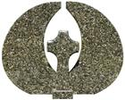 Green Granite Tombstones - Butterfly Green