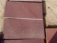 Red Porphyre Tile (hond)