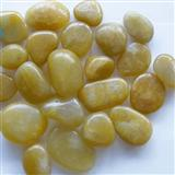 Polished Yellow Pebbles