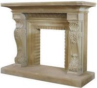 Sandstone Fireplaces -Yellow