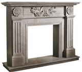 Purple Sandstone Fireplace Mantels(SFP-004)