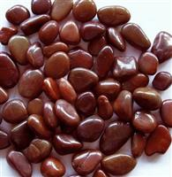 Polished Red Pebbles