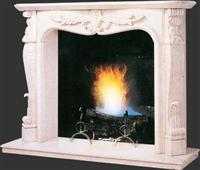 Stone Fireplace (Marble, Granite)