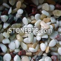 Machine-made pebble Stone