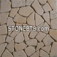 Cobble on Mesh -(Limestone)