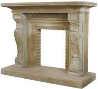 Yellow Sandstone Fireplace(SFP-001)