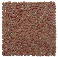 Mini Pebble Tile - Red
