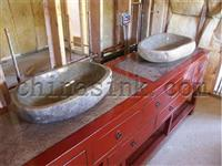 cobble sink-bathroom sink bathroom project 01
