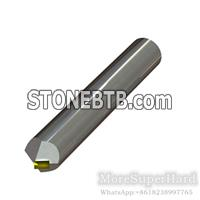 MCD Non-standard round bar type chamfering cutting tools