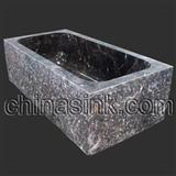 China Dark Emperador Bathtub