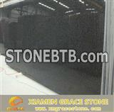 G654 black granite slab