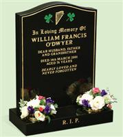 American Style Headstone