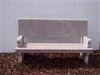 Granite Stone Chair 01