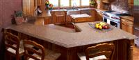 Granite Peninsula Countertop