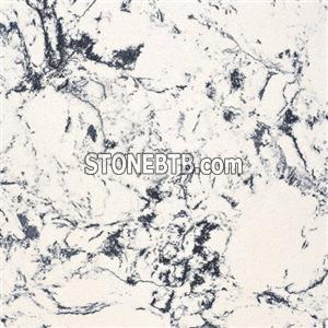 Flower White Compressed Stone