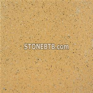 Yellow Galaxy Compressed Stone