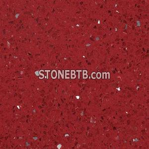 Red Artificial Quartz