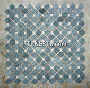 Green Marble Mosaic 02