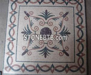 Marble Mosaic Pattern Marble Medallion