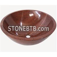 Rojo Alicante wash basin, bathroom sink