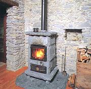 Stone Wood-Fired Stoves
