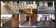 Granite and marble balusters