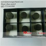 Solid PCBN inserts for rolls
