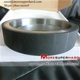 Ceramic bond CBN grinding wheel for crankshaft and camshaft