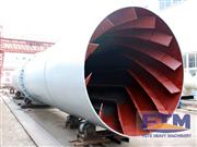 Palm kernel shell dryer