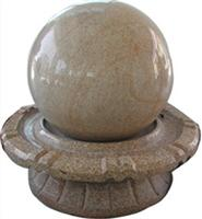 Golden Granite Fountain Ball