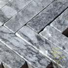 Chiseled, Tumbled - Afyon Tiger Skin Marble