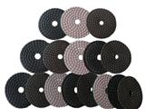 Wet Using Diamond Polishing Pads