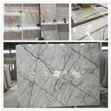 New Calacatta Purple Marble Slabs Stunning Marble Floor & Wall Tiles, Turkey White Marble