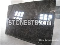 Chinese Dark Emperador Marble Tiles Cheap Dark Gray Marble Slabs