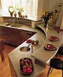 Marble and granite Countertop, kitchen counter