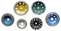 Sintered cup wheel