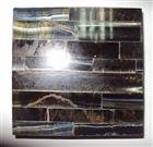 Semiprecious Blue Stone Tiger Eye Mosaic Tile