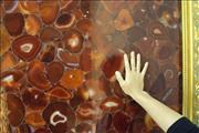 Gemstone of agate slab for wall, floor and countertop