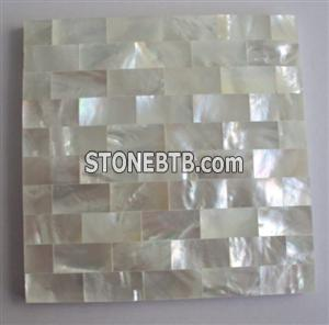 White Mother of Pearl Shell Mosaic Tile