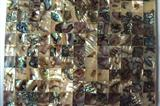Abalone Mother of Pealr Shell Ceramice Tile
