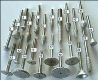 Vacuum brazed diamond gravers