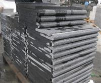 flamed & bullnose pool coping tiles