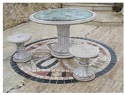 Travertine Stone Tables, Furnitures