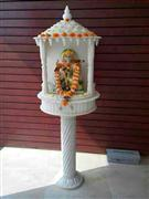 mandir with stand