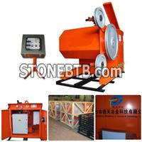 Power rotate wire saw machine 30KW lateral adjustment