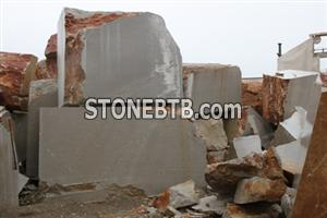 Blocks Tombolons Slabs Final Stone Productions of gray very resistant limestone
