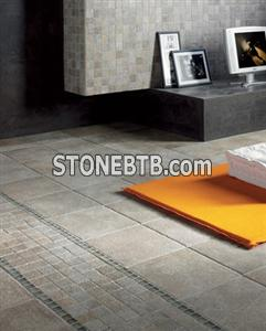 Travertine Flooring Antiqueted