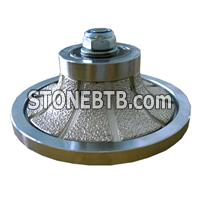 Vacuum brazed diamond hand-type profile wheel 5