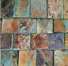Multicolor Slate roof tile